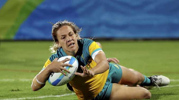 Dubai Sevens MVP Australia's Evania Pelite