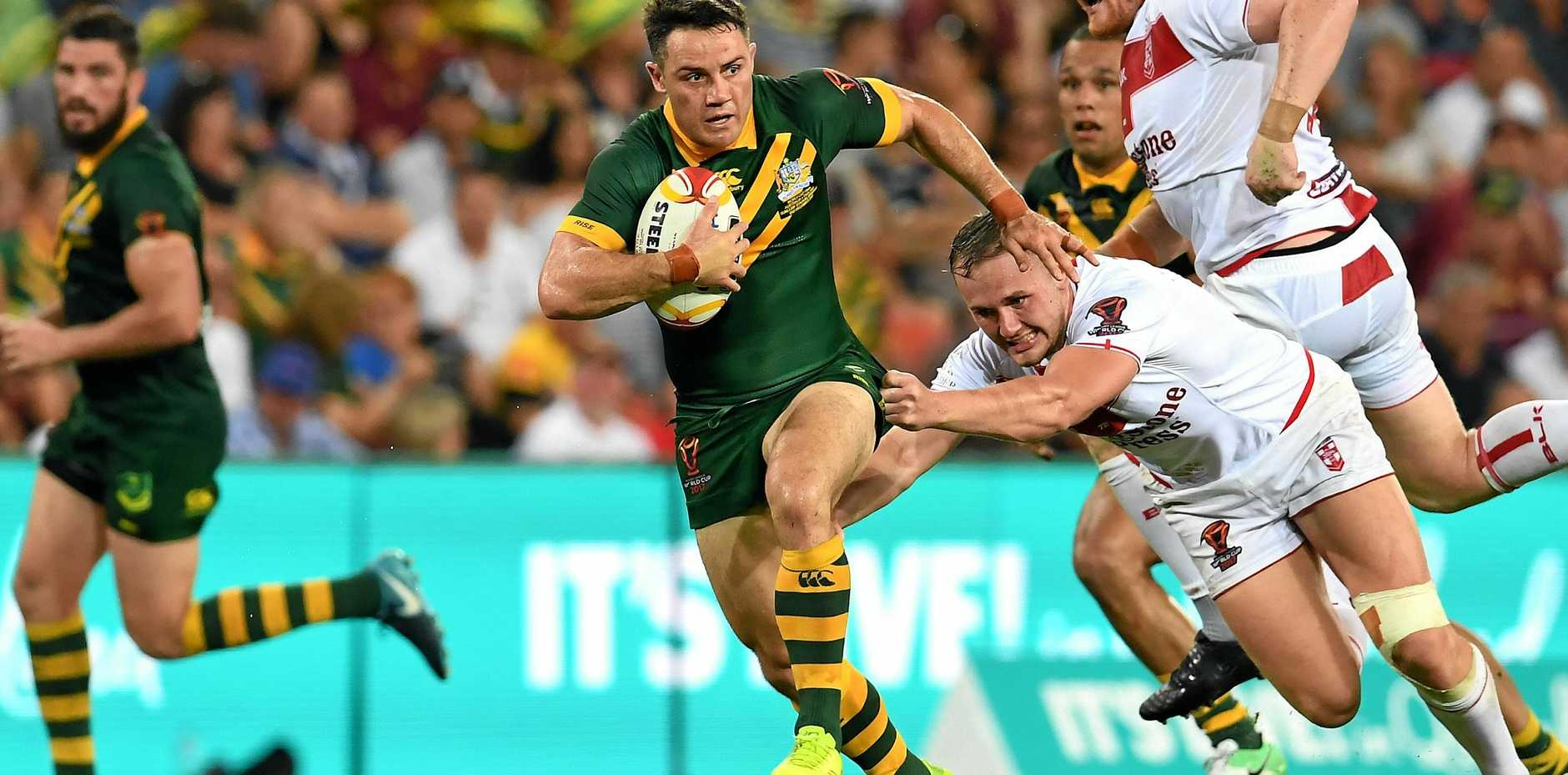 Cooper Cronk ended his representative career after Australia's win in the World Cup final