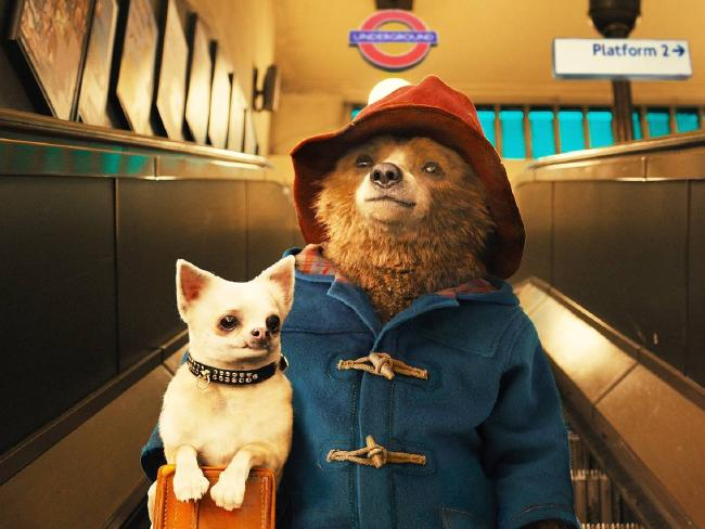 The world's favourite travelling bear is brought to life again in Paddington 2.