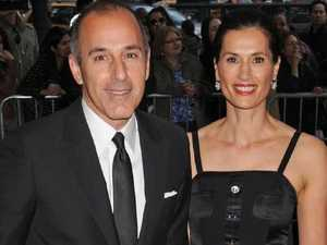 Lauer's wife has reportedly fled the country