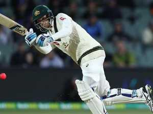 Hard going early before Handscomb hits stride