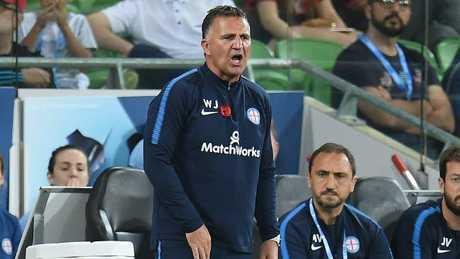 Warren Joyce has been given a mandate to change the culture at Melbourne City. Picture: AAP
