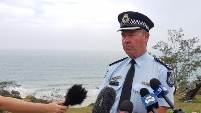 "Inspector Darren Somerville says of the missing fishermen: ""We do hope we can find those four people."""