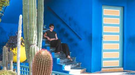 She loved the colours of Morocco. Picture: Sorelle Amore