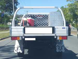 Thong mudflaps? Only in Queensland...