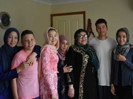 The Namazi family of five daughters, two brothers, and their mother, came to Australia in 2013 as Afghan refugees from Iran.