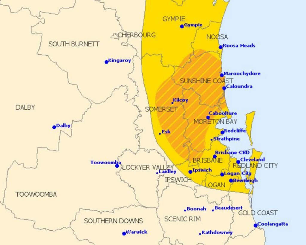 WARNINGS: Warnings have been issued for the Sunshine Coast today.