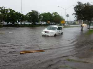 Point Cartwright Drive flooding