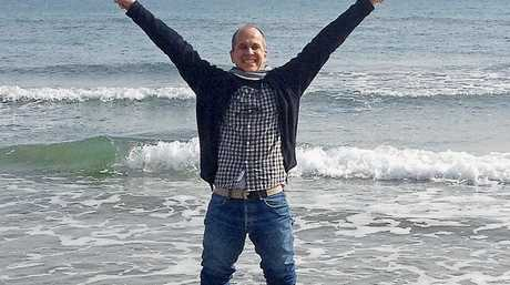 Peter Greste, tweeted this image declaring he was
