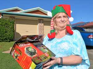 Grinch strikes Mackay home, trying to ruin Christmas