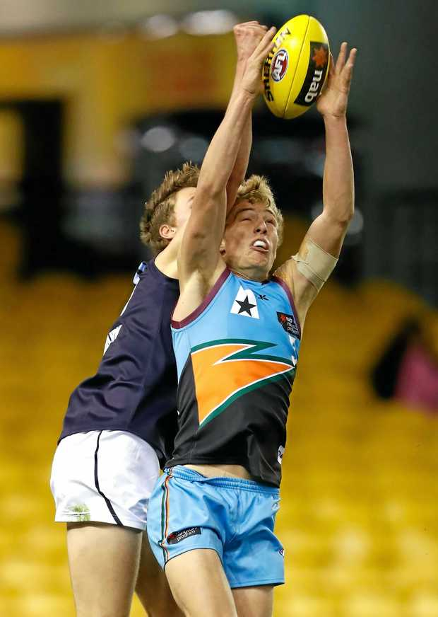 REGIONAL REPRESENTATIVE: Former Coffs Swans player Jake Brown's father, Chris, said he opened up the door for future regional draftees.