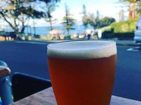 Moffat Beach Brewing Company Saison.