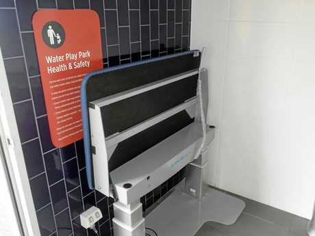 Gladstone Ports Corporation has installed a custom-made change table at East Shores to improve accessibility for people with physical disabilities.