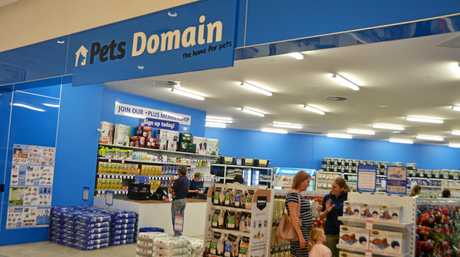 Pets Domain opened at Rose City Shoppingworld in Warwick today.