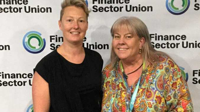 BIG NAMES: Dolly Jensen (right) with Clea Smith from the Australian Cricketers Association.