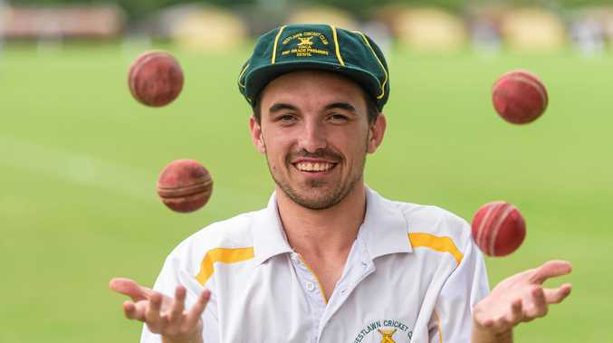 AWESOME FOURSOME: Josh Bender took four wickets in four balls for Westlawn second grade.