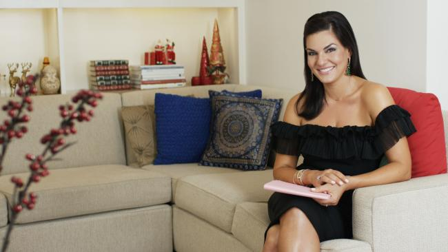 Nicole O'Neil, one of the Real Housewives of Sydney, gives us a look inside her Christmas Day.