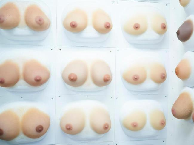The sex dolls can be made with a variety of breast colours and sizes — but Realdoll told us C-D cups are the most popular. Picture: John Chapple/Sun Online