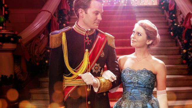 A Christmas Prince is out now. Picture: Netflix