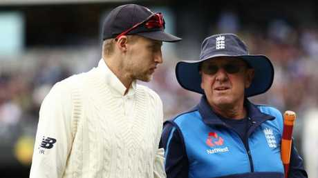 England coach Trevor Bayliss says the amount of sledging going on in the Ashes isn't a good look for cricket.