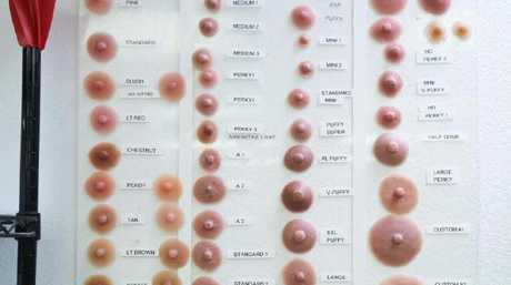 There are over 50 different sizes and shapes of nipples that customers can choose from. Picture: John Chapple for Sun Online