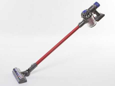The Dyson V6 stick vacuum, aka a poor decision on my part.
