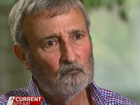 "A Current Affair host Tracy Grimshaw said Don Burke ""looked crook"" during the interview. Picture: ACA/ Channel 9"