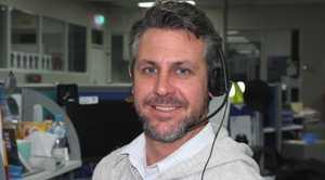 Bill North, Editor of the Daily Examiner