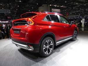 Mitsubishi enters new SUV terrain with Eclipse Cross