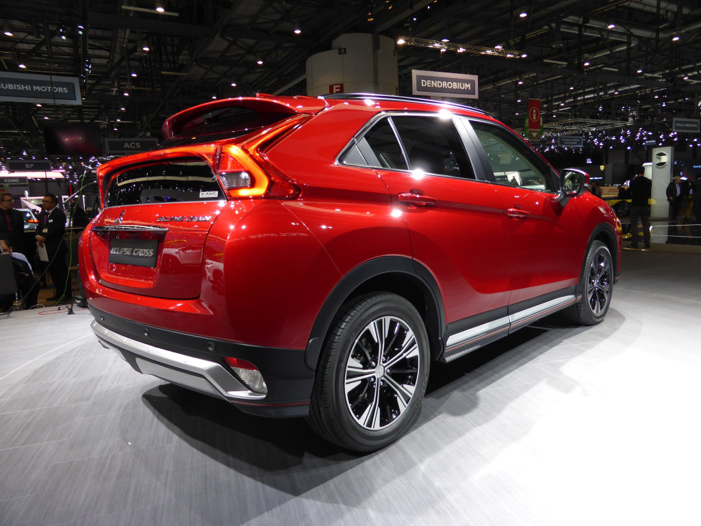 The new Mitsubishi Eclipse Cross.