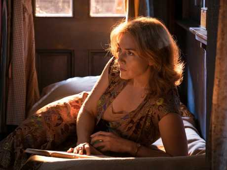 Kate Winslet in a scene from the movie Wonder Wheel.
