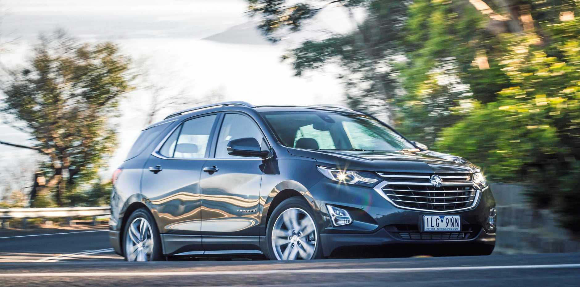 The Holden Equinox will be in showrooms priced from $29,990 drive-away.