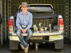 Classy young CQ cowboy caps year with dual titles