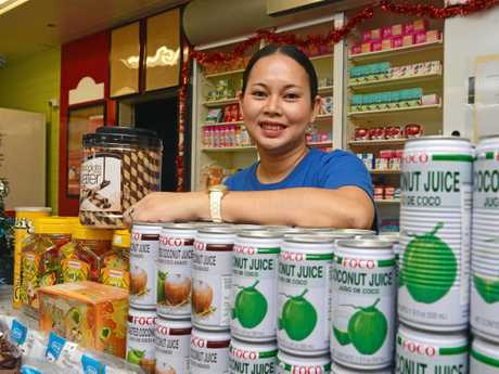 UNIQUE FLAVOURS: Nerissa Fish has plenty of traditional foods at her newly opened Filipino Food store in Bundaberg.