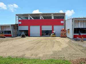 Big red building brings fire station alive
