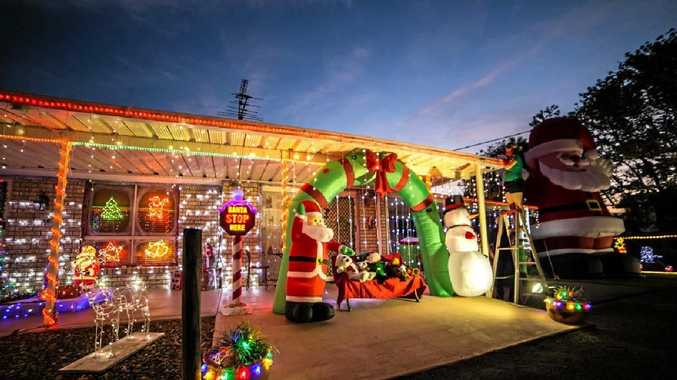 Lyn Birch was the overall winner of the #MackayPride Christmas Lights Competition. Contributed