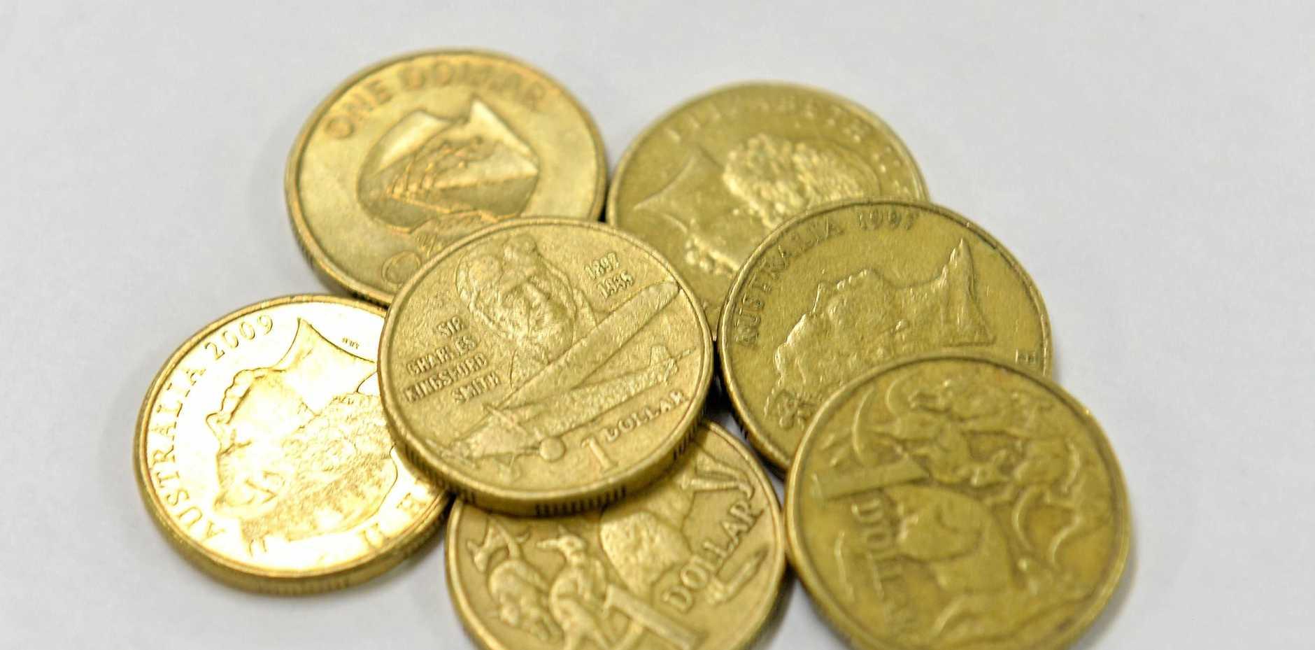 $1 one dollar coins