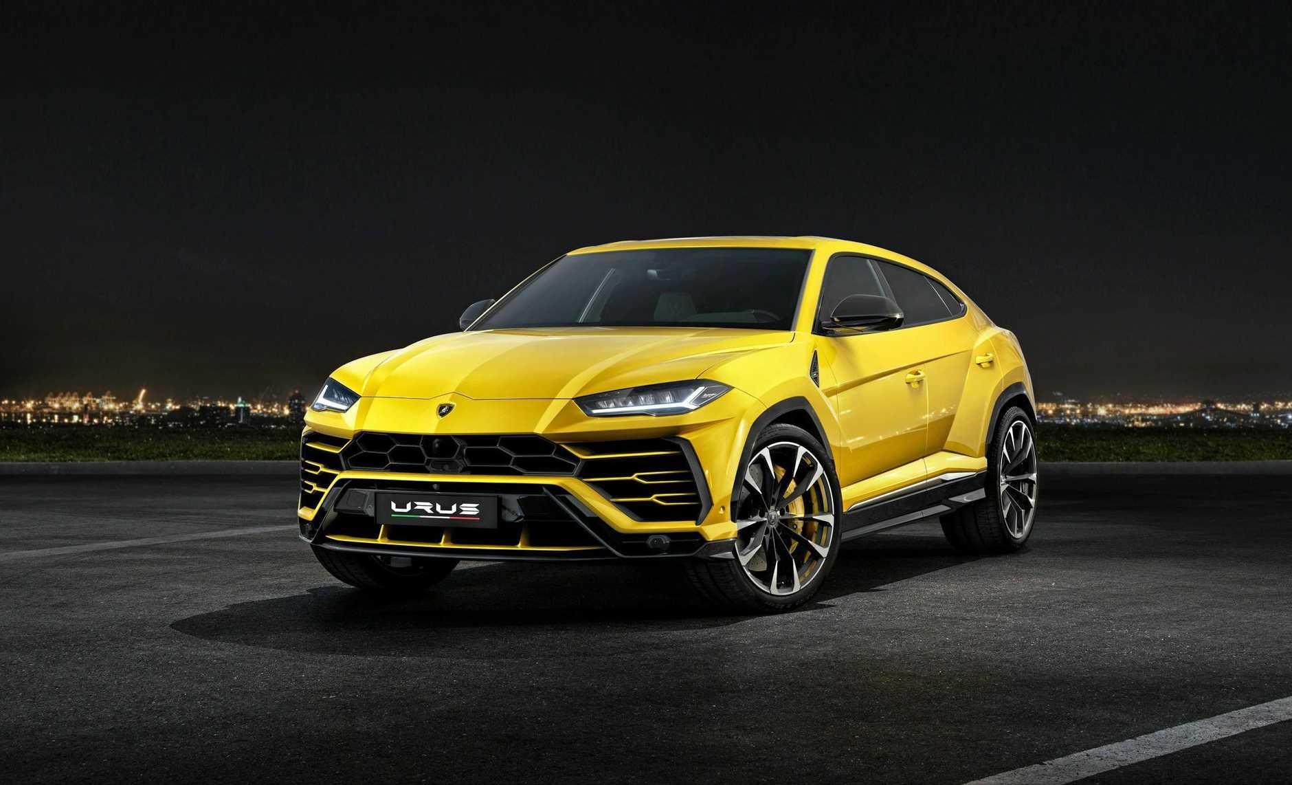 The Lamborghini Urus.