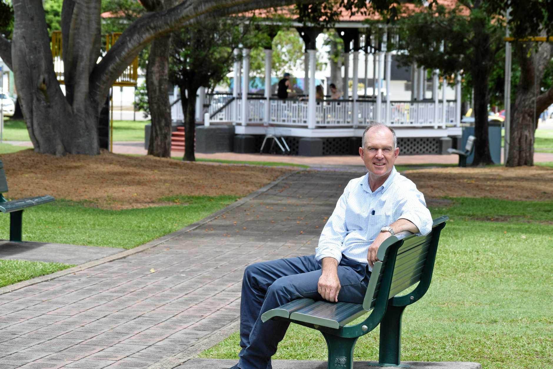 Gympie MP Tony Perrett has been returned for another three years in Parliament.