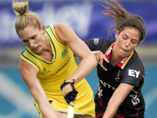 DREAMS SHATTERED: Kirstin Dwyer has been left out of Hockey Australia's 25-member squad for 2018.