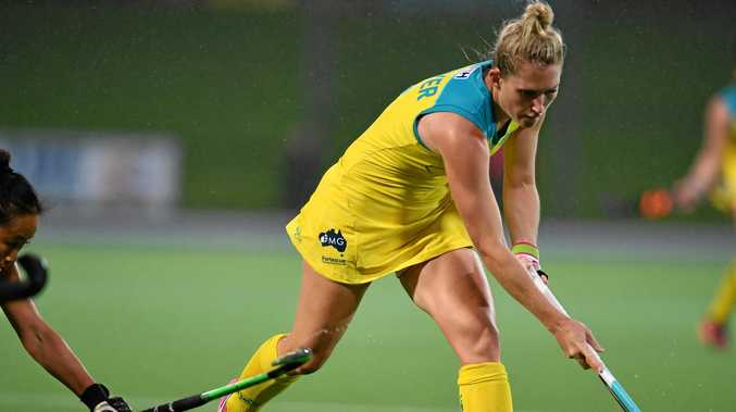 Dropped: Kirstin Dwyer has been left out of the Hockeyroos squad for 2018.