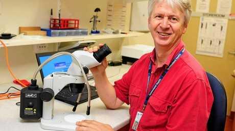 Townsville Public Health Unit director Doctor Steven Donohue.