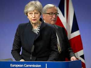 Irish border deal stalls May's Brexit