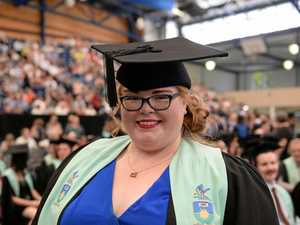 GALLERY: CQUni student's incredible journey to new career