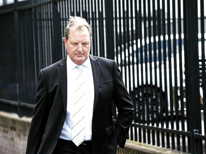 Glenn Allan Taylor leaves Lismore Local Court after a previous appearance.