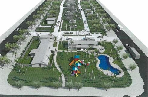 A 3D image of what the Pier Caravan Park is expected to look like.