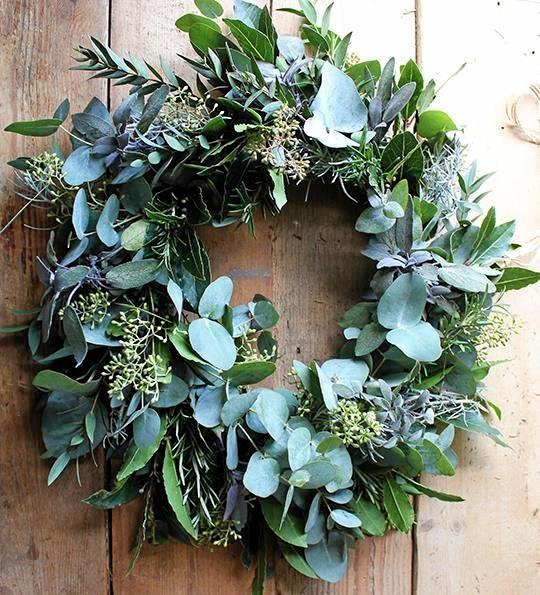 Make your own Christmas wreath.