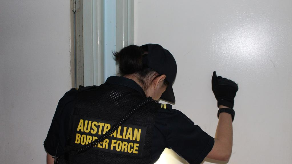 Australian Border Force has conducted a raid on a suspected illegal labour hire operation in the Lockyer Valley. Picture: Supplied