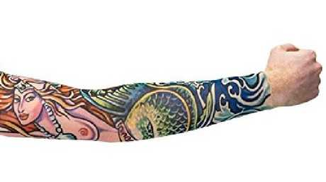 We weren't expecting to find a Mermaid Tattoo Sleeve on Amazon.