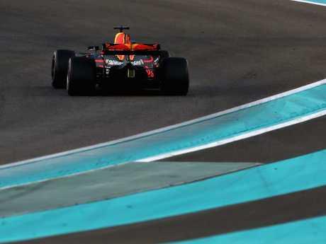 Daniel Ricciardo during the Abu Dhabi Formula 1 Grand Prix.